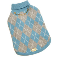 Blue Argyle Cashmere (Exclusive!)