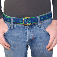 Blue Whales Belt