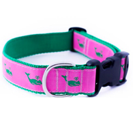 Pink Whales Collar